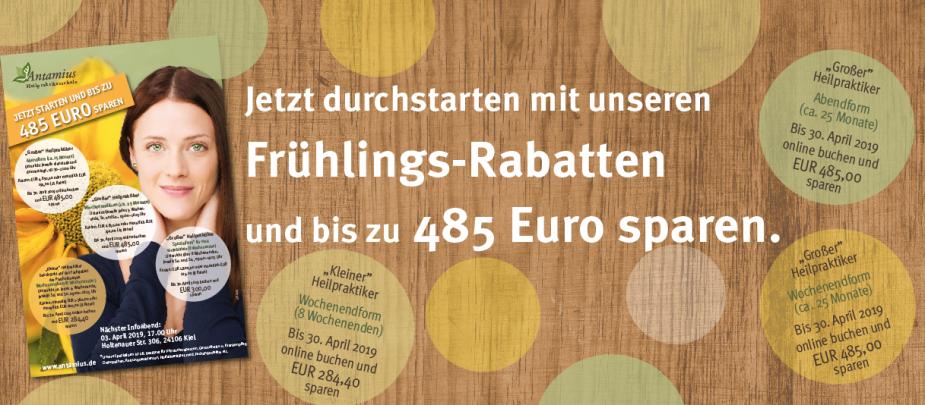 Jetzt starten und bis zu EUR 500 sparen